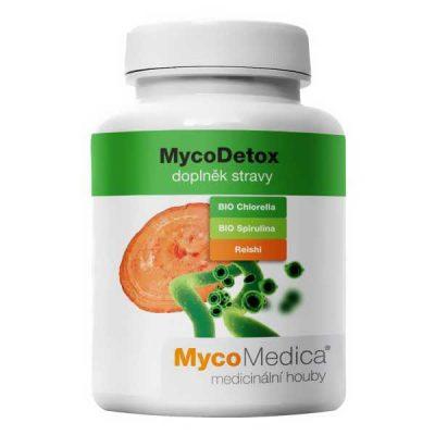 MycoDetox, prevencii rakoviny, BIO Chlorella, BIO Spirulina, protizápalovéúčinky,