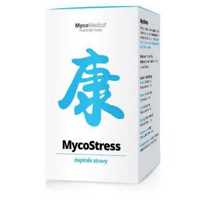 MycoStress, stres, problémy so spánkom, pocit preplnenej hlavy, psychosomatické problémy,