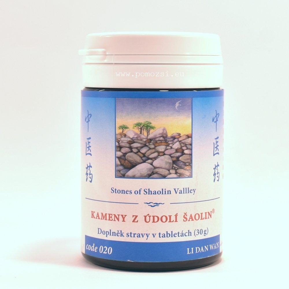 Kamene z údolia Šaolin – Li Dan Wan – 020H-mod