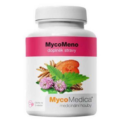 MycoMeno, pri menopauze, pocit horúčosti, upravuje psychickú, návaly,