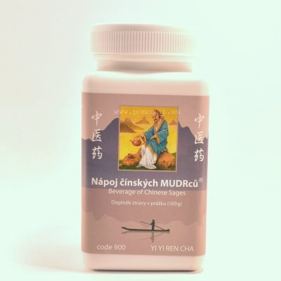 Nápoj čínskych MUDRcov - Yi Yi Ren tea