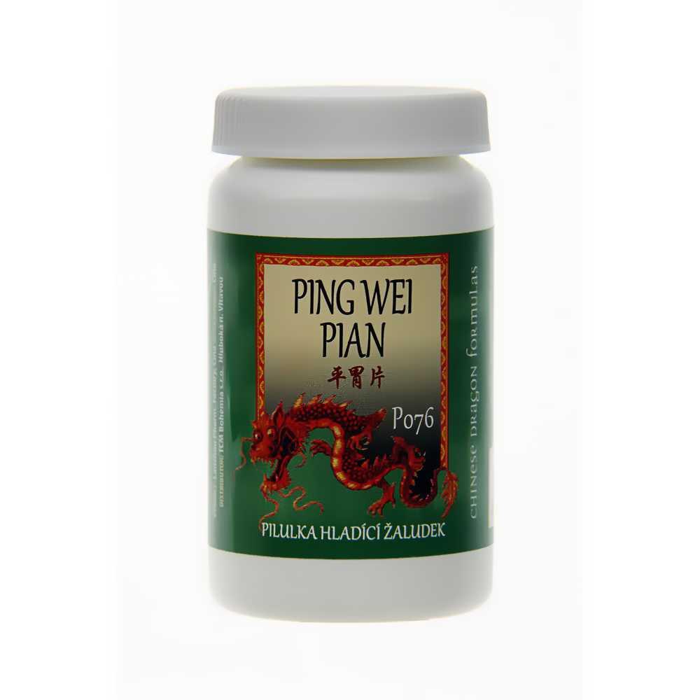 Pilulka hladiaca žalúdok – PING WEI PIAN – 076pB