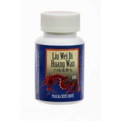Pilulka šiestich chutí – LIU WEI DI HUANG WAN – 181B