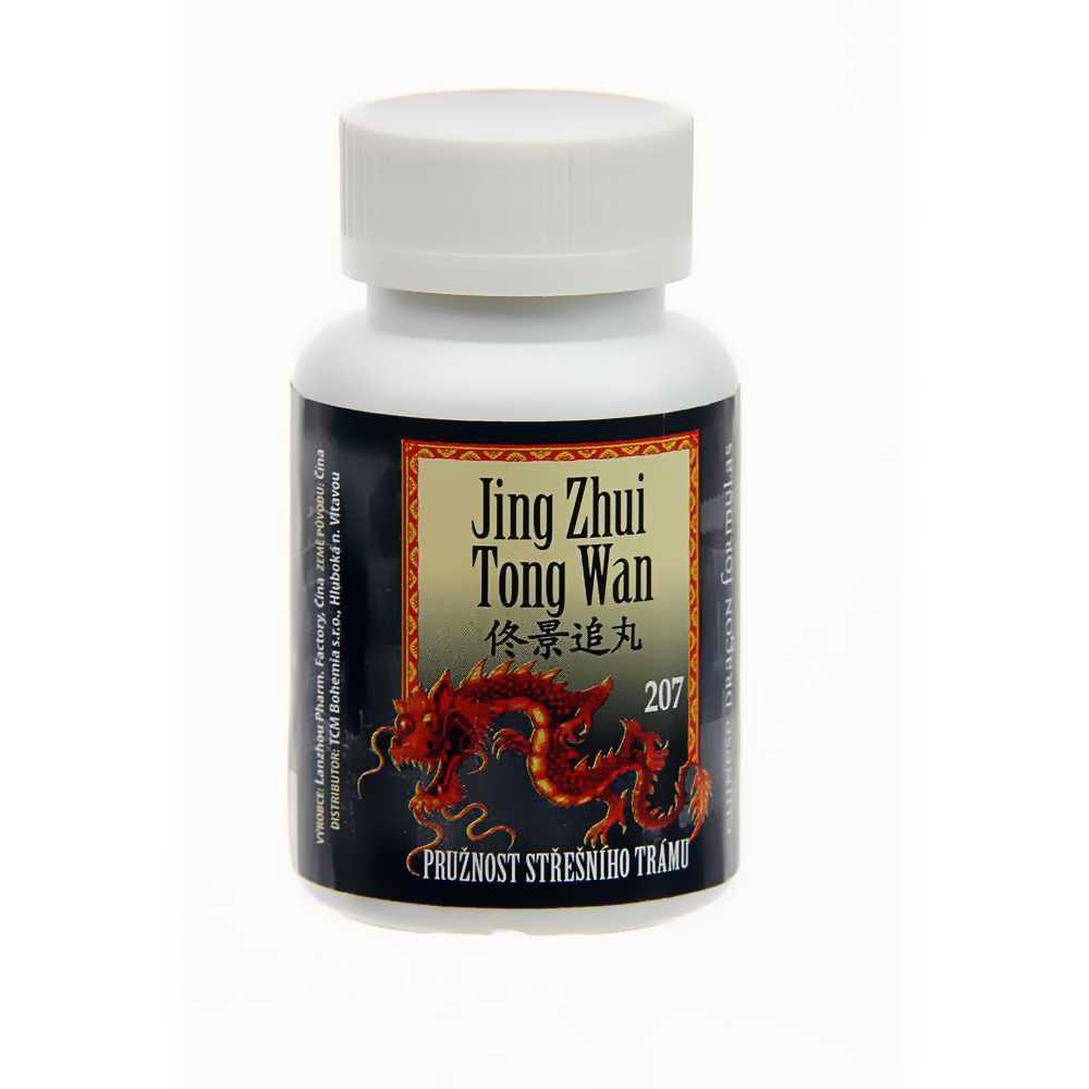 Pružnosť strešného trámu – JING ZHUI TONG WAN – 207B