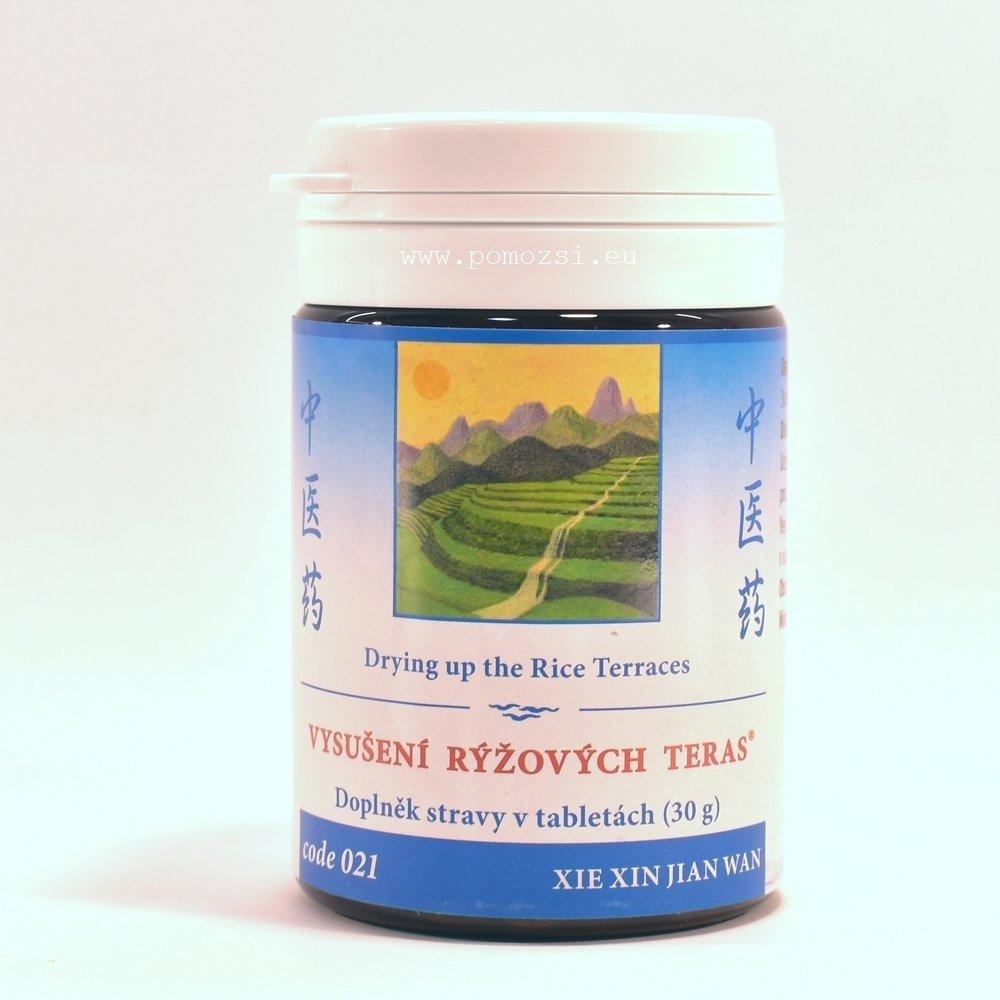 Vysušenie ryžových terás – Wei Da Chang Shi Re Du Wan – 021H-mod (Xie Xin Jian Wan)