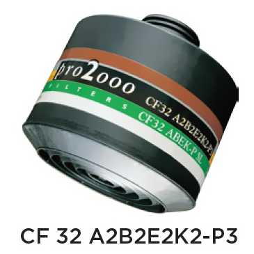 Ochranný protiplynový filter – CF32 A2B2E2K2-P3