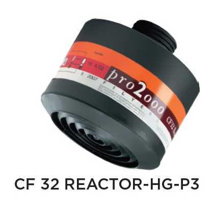 Ochranný protiplynový filter – CFR32 REACTOR-Hg-P3
