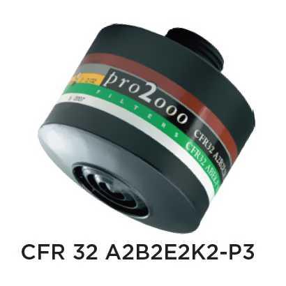 Ochranný protiplynový filter – CFR32 A2B2E2K2-P3