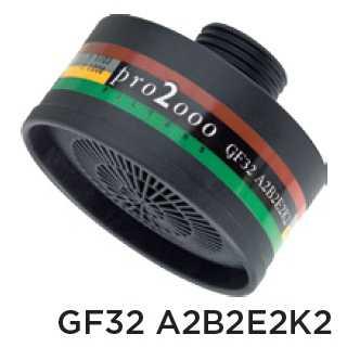Ochranný protiplynový filter – GF32 A2B2E2K2