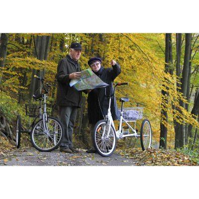 Na výlete na tricykloch