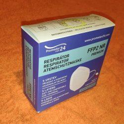Respirátor Promedor24 FFP2 Premium NR – 10 ks