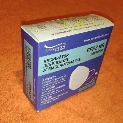 Promedor24 respirátor FFP2 Premium NR