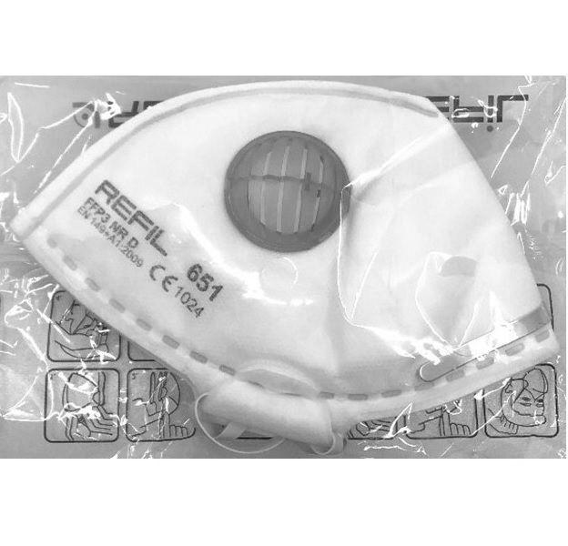 Respirátor Refil 651 FFP3 NR D